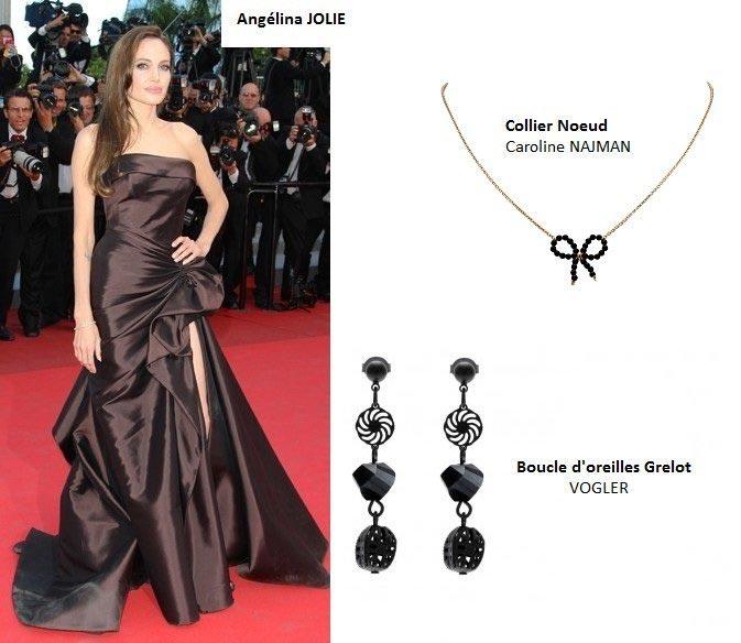 Angelina Jolie et les bijoux Jollia