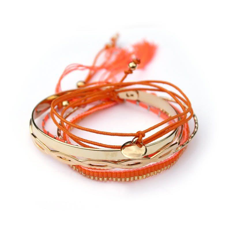 Assortiment de bracelets à graver Mandarine