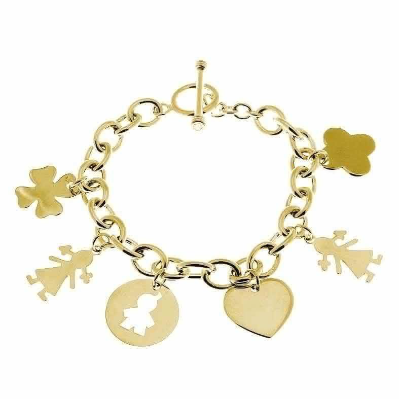 Bracelet chaîne à composer