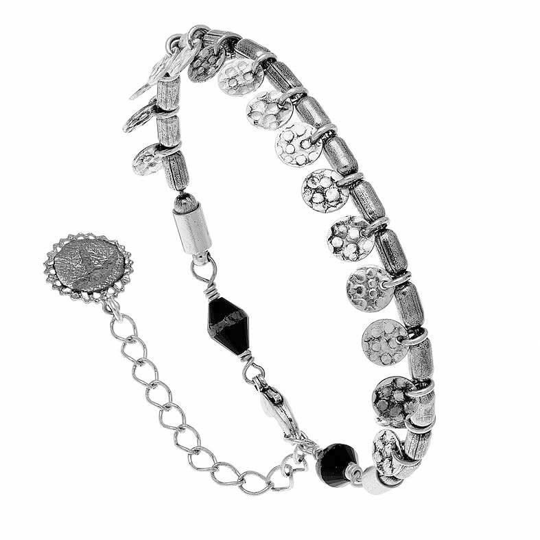 Bracelet pastille (argenté)