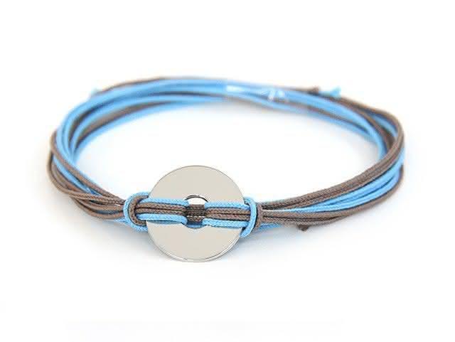 Bracelet multi cordons petite cible