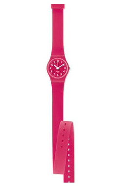 montre swatch fushia