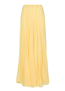 jupe longue jaune Morgane