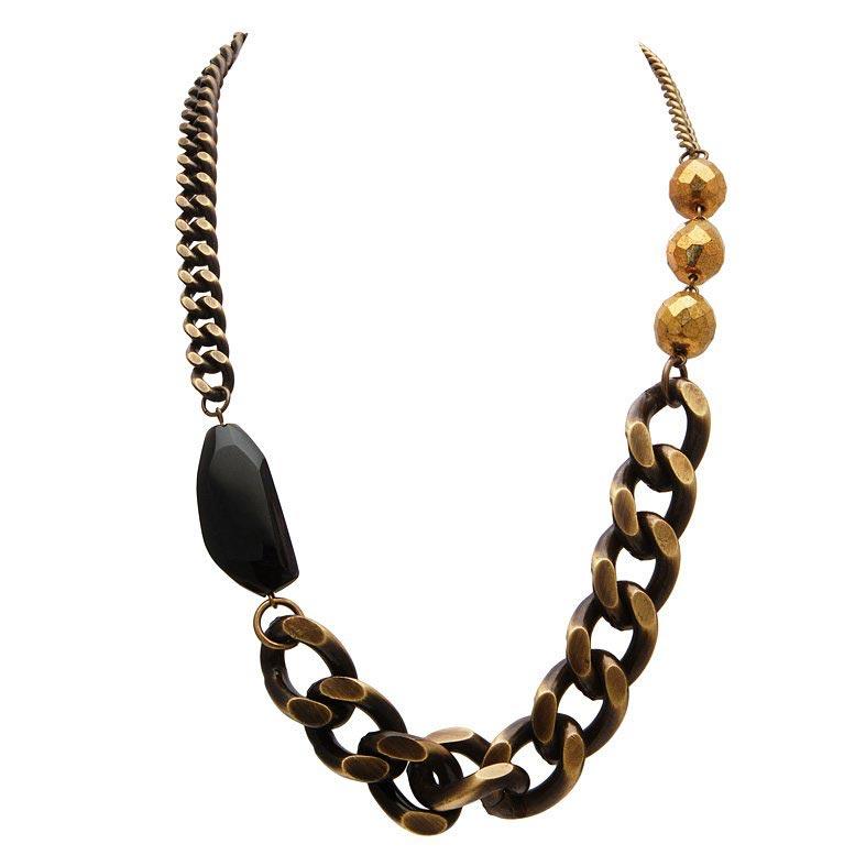 collier rock chaine vogline