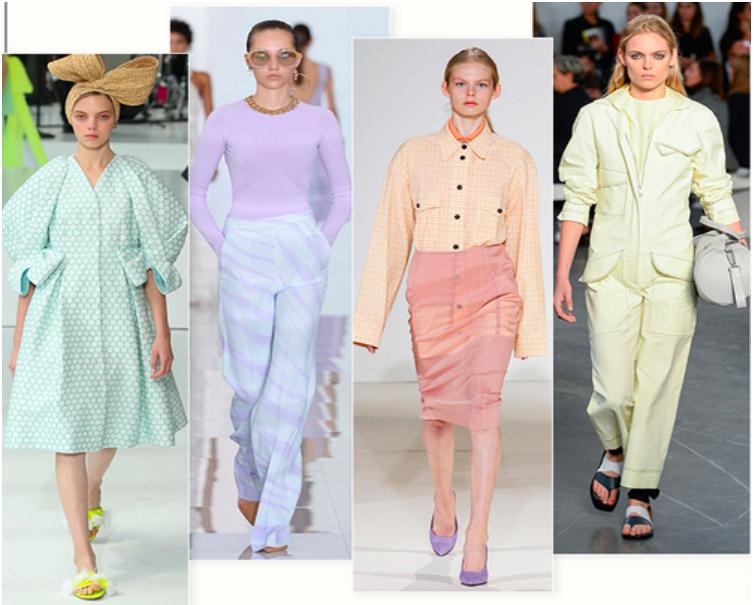 couleurs pastels tendance