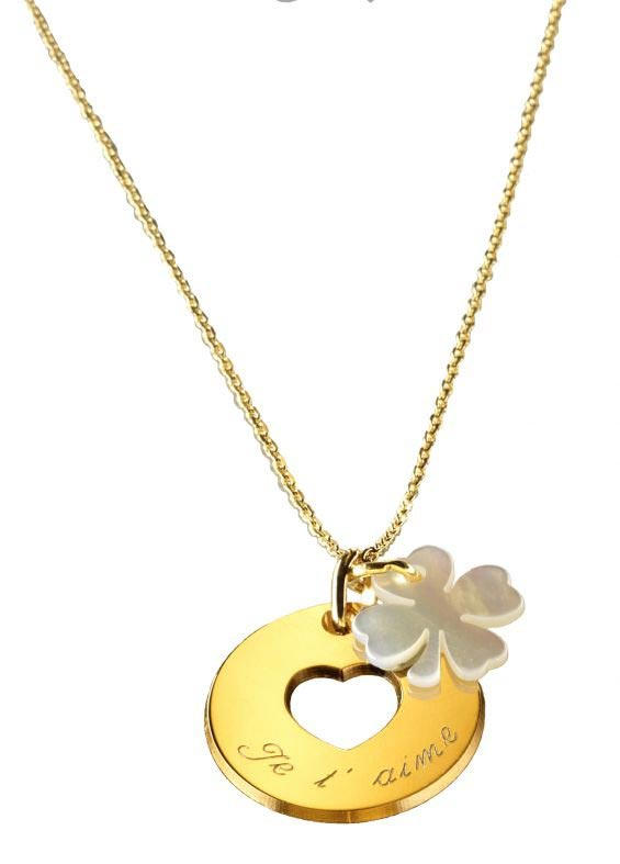 collier pendentitf personnalisable