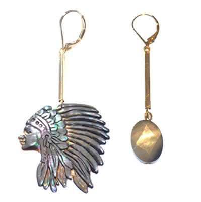 Boucles d'oreilles indiana