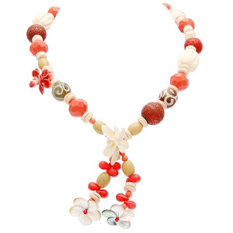 collier-perle-corail-fleur