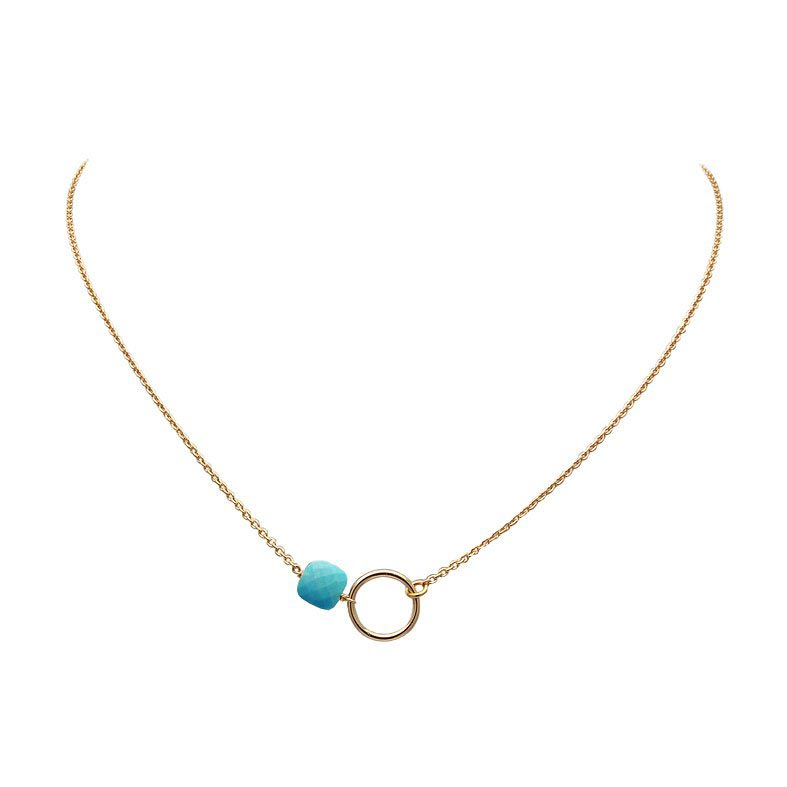 collier-chaine-turquoise-or