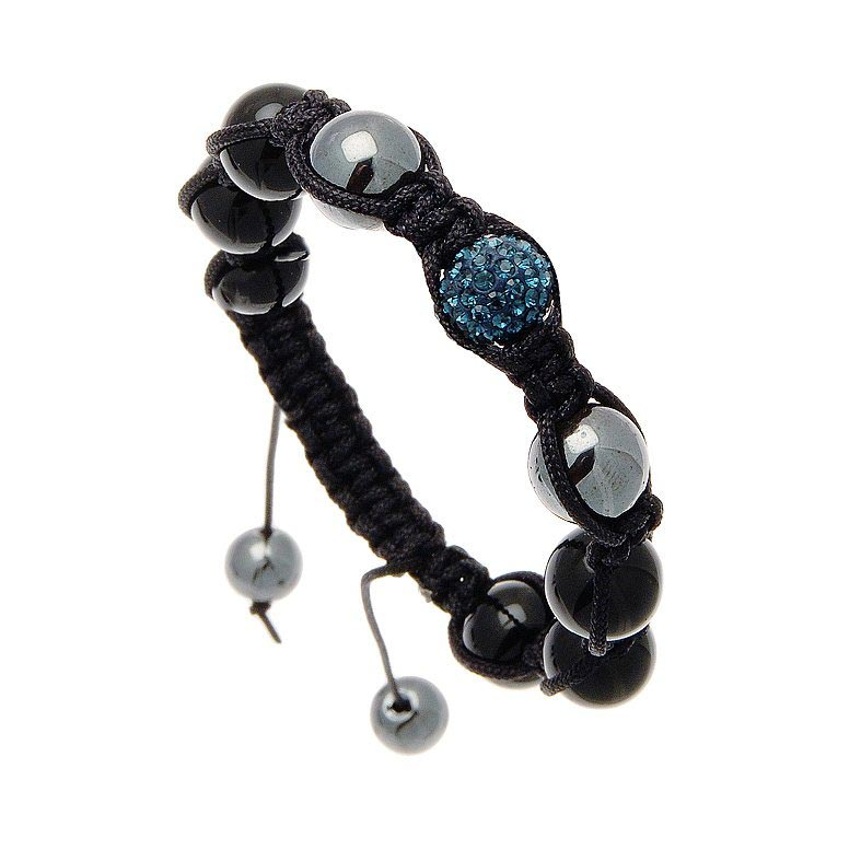 bracelet chabala cristal bleu