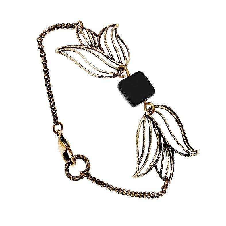 Bracelet Tulipe Noir