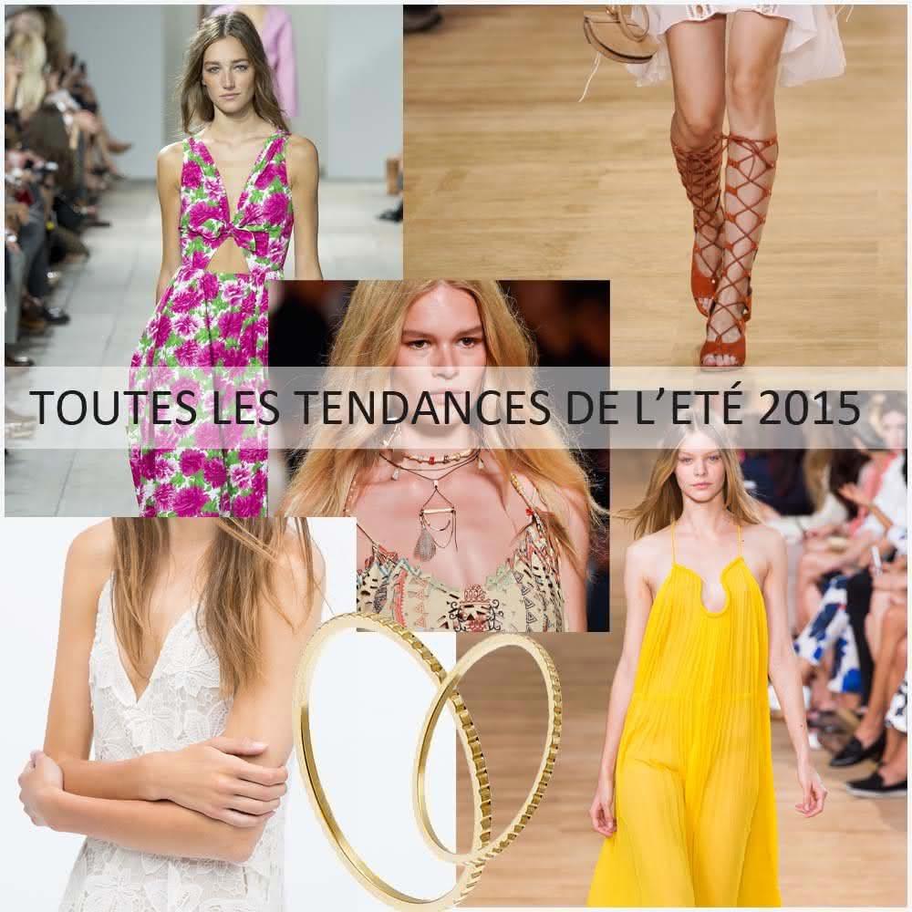 Les tendances de l'été 2015