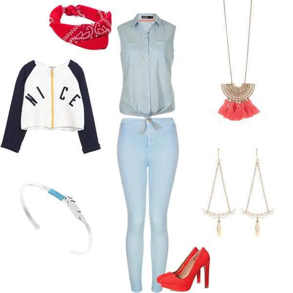 Comment porter un jean taille haute