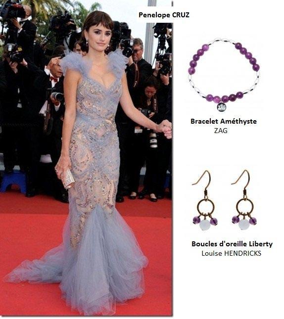 Penelope CRUZ et les bijoux Jollia